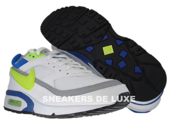 official photos bb0b5 6173f 358797-106 Nike Air BW Classic WhiteHot Lime-Team Royal- .
