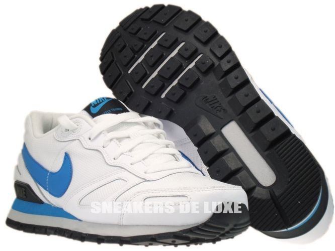 429628 107 nike air waffle trainer white neptun blue. Black Bedroom Furniture Sets. Home Design Ideas
