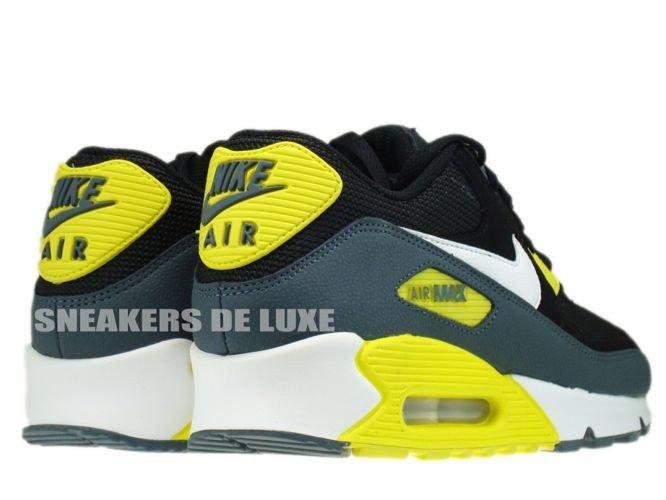 nike air max 90 black and yellow
