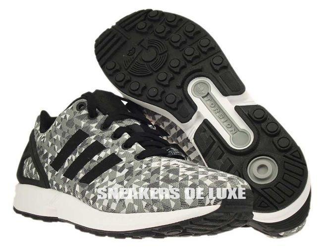 Adidas Zx Flux Grey Weave
