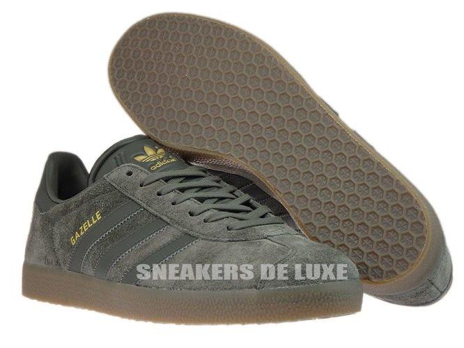 Bb2754 Adidas Gazelle UTILITY / GRIS / UTILITY GRIS / UTILITY Gum bb2754 5c1ab1
