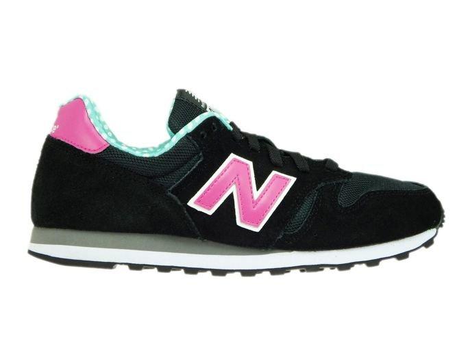 new balance pink black