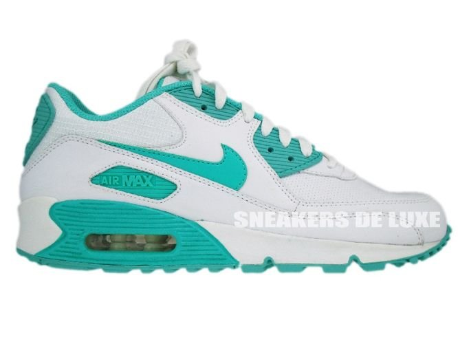 nike air max 90 white cool mint white 309298 100 309298. Black Bedroom Furniture Sets. Home Design Ideas