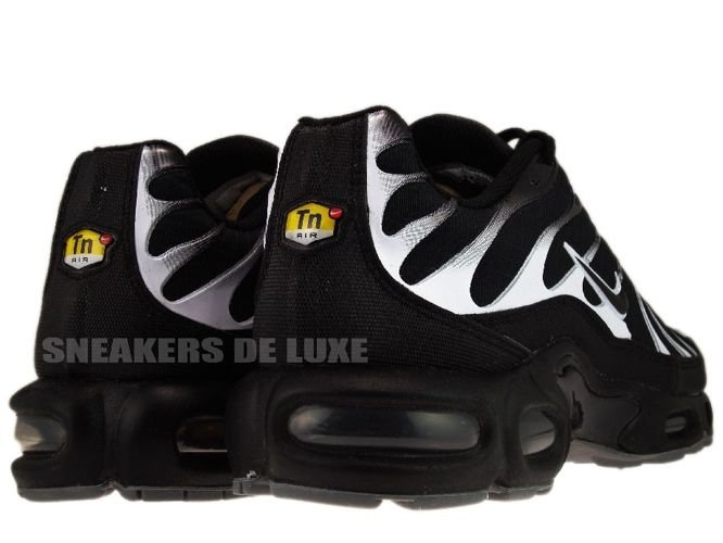 ... Nike Air Max Plus TN 1 Black/Black White Cool-Grey ...