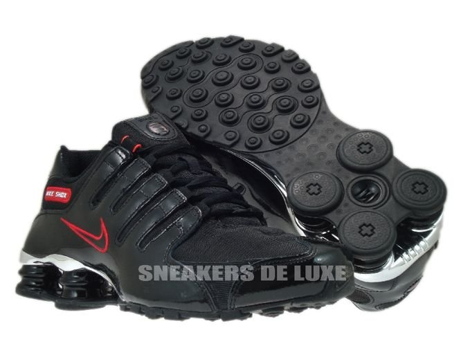 Nike Shox NZ Black Red Nike Shox NZ Black Red ...