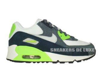 307794-151 Nike Air Max 90 PS White/Pure Platinum-Armory Navy-White