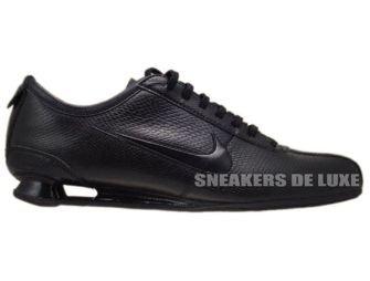 316317-020 Nike Shox Rivalry Black/Cool Grey