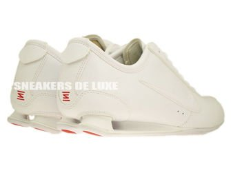 316317-145 Nike Shox Rivalry White/White-Challenge Red