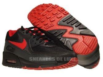 325018-069 Nike Air Max 90 Midnight Fog/University Red
