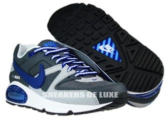 397689-009 Nike Air Max Command Dark Grey/Deep Royal-Wolf Grey
