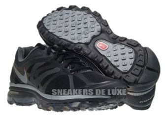 487679-020 Nike Air Max+ 2012 Black/Metallic Cool Grey