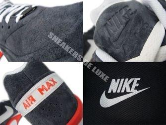 505818-018 Nike Air Max BW Classic VT Anthracite/White