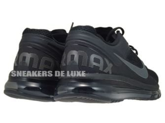 554886-001 Nike Air Max+ 2013 Black/Dark Grey