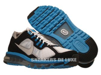 554967-100 Nike Air Max+ 2013 EXT White/Light Zen Grey-Laser Blue-Black