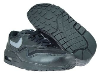 555766-043 Nike Air Max 1 Black/Cool Grey