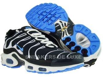 605112-043 Nike Air Max Plus TN 1 Black/White-Blue