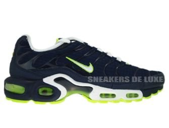 605112-416 Nike Air Max Plus TN 1 Obsidian/White-Volt