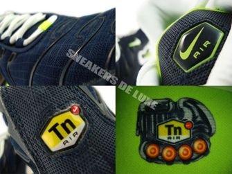 605112-416 Nike Air Max Plus TN 1 Obsidian/White-Volt