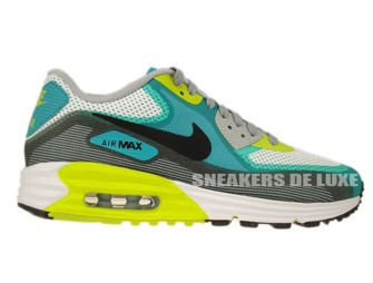 636229-103 Nike Air Max Lunar 90 C3.0 White/Black-Turbo Green