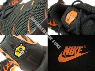 647315-066 Nike Air Max Plus TN 1 Anthracite/Atomic Orange