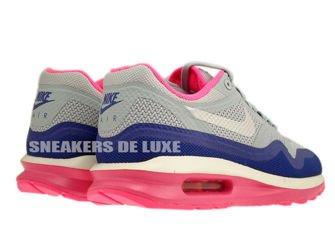 654937-001 Nike Air Max Lunar 1 Light Magenta Grey / Pure Platinum - Hyper Pink