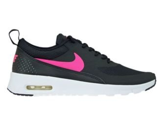 814444-001 Nike Air Max Thea Black/ Hyper Pink-White