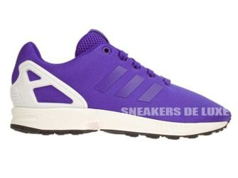 B23986 adidas ZX Flux K Night Flash / White