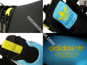 B34458 adidas ZX Flux NPS MID Core Black / Core Black / Bright Yellow