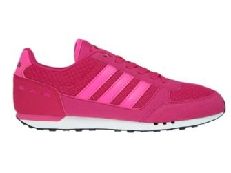 B74491 adidas City Racer W Bold Pink/Shock Pink/Mystery Blue/Core Black
