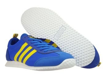 BB9679 adidas NEO VS Jog Blue/Eqt Yellow/Collegiate Royal