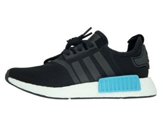 BY9951 adidas NMD R1 W Core Black/Core Black/Icey Blue