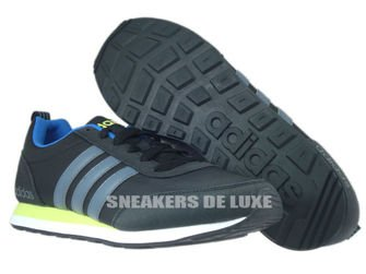 F99409 adidas neo V Run Vs core black / lead / blue