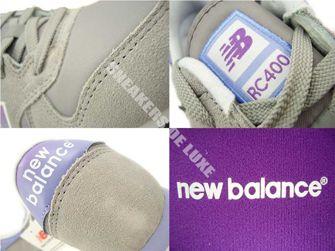 ML400SNF New Balance Grey / Purple
