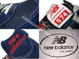 New Balance ML574NIN 574 Black/Red
