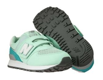 New Balance YV574D5 Day and Night Green with White