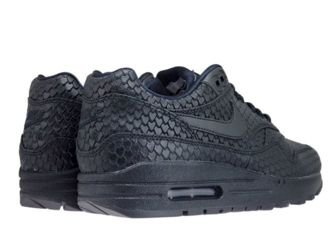 Nike Air Max 1 Premium 454746-014 Black/Black-Anthracite