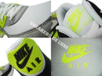 Nike Air Max 90 Black/White-Medium Grey-Volt 325018-048