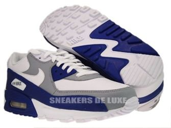 Nike Air Max 90 Wolf Grey/Drenched Blue 309299-130