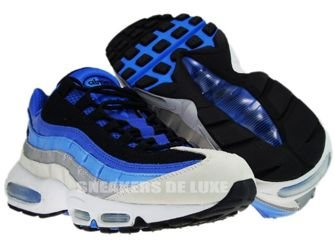 Nike Air Max 95 Varsity Royal/Black-Italy blue-Metallic Silver 609048-404
