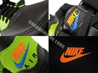 Nike Air Max Light Leather Black/Black-Volt 333623-010