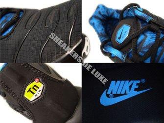 Nike Air Max Plus TN 1 Black/Blue Hero-White