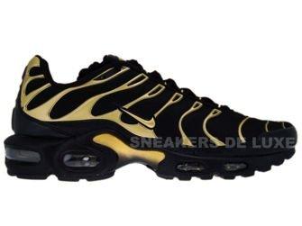 Nike Air Max Plus TN 1 Black/Metallic Gold-Black