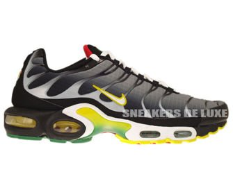 Nike Air Max Plus TN 1 Black/White-Tour Yellow-University Red