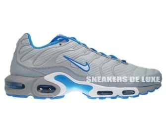 Nike Air Max Plus TN 1 Neutral Grey/White-Blue Glow