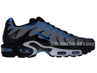 Nike Air Max Plus TN 1 Wolf Grey/Black-Blue Glow