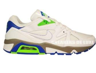 Nike Air Structure 91 Triax White/Electric Green/Blue Sapphire 318088-111