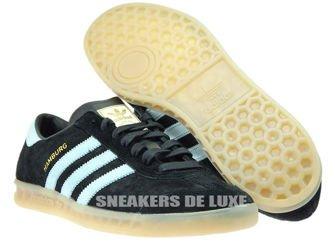 S74833 adidas Hamburg Black/Blush Blue/Vintage White
