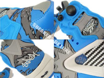 V61559 Reebok X Stash Insta Pump Fury OG Cycle Blue/Grey/Steel/Grey