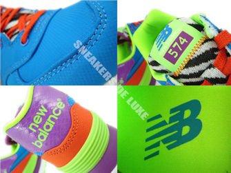 "WL574BP New Balance ""Pop Safari"" Blue"