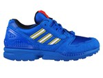 """adidas ZX 8000 LEGO FY7083 """"Color Pack"""" Blue"""